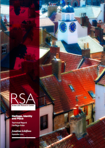 RSA heritage index 2015 cover