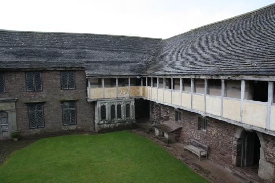 Tretower Court # David Gill