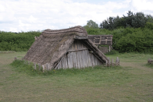 West Stow Anglo-Saxon village © David Gill