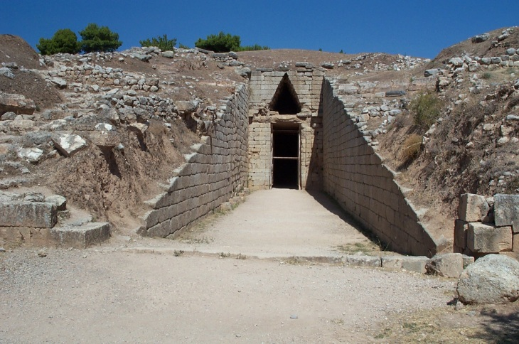 Tholos tomb at Mycenae © David Gill