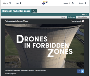 Drones in forbidden zones