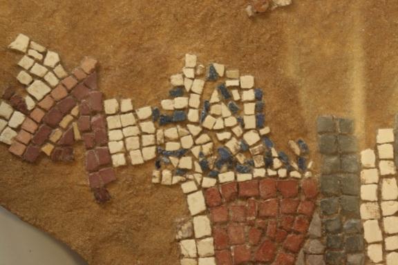 Detail of Helikon mosaic © David Gill