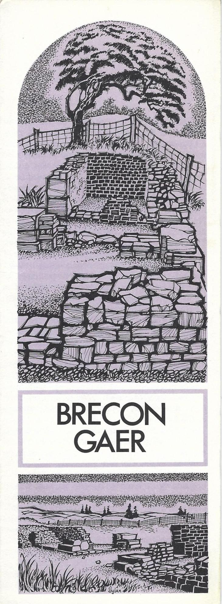 Brecon_Gaer_card