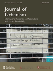Journal of Urbanism cover
